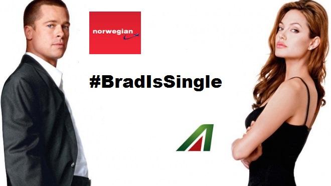 L'instant marketing ed il divorzio di Angelina Jolie e BradPitt