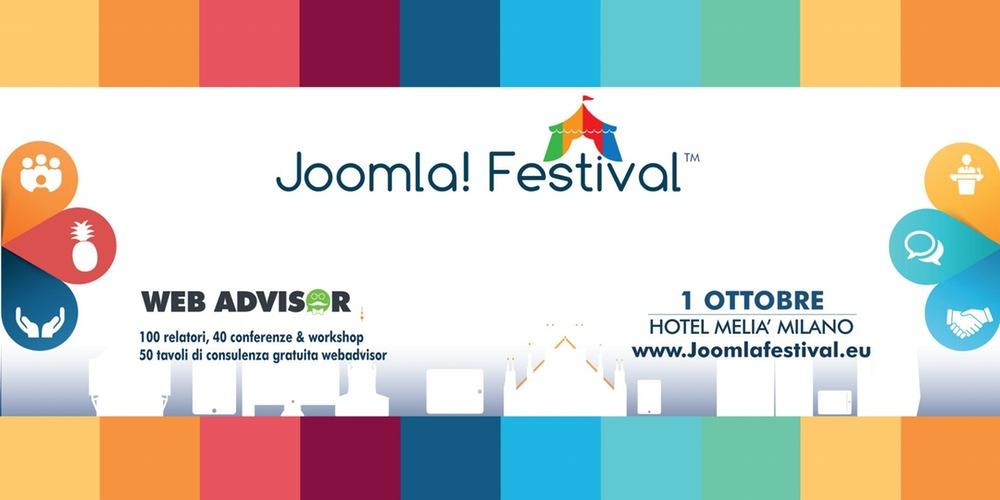 Joomla! Festival 2016: scopri iprotagonisti
