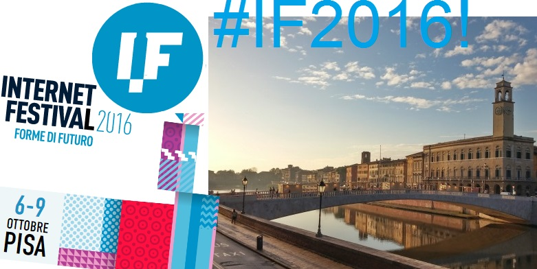 Al via Internet Festival2016