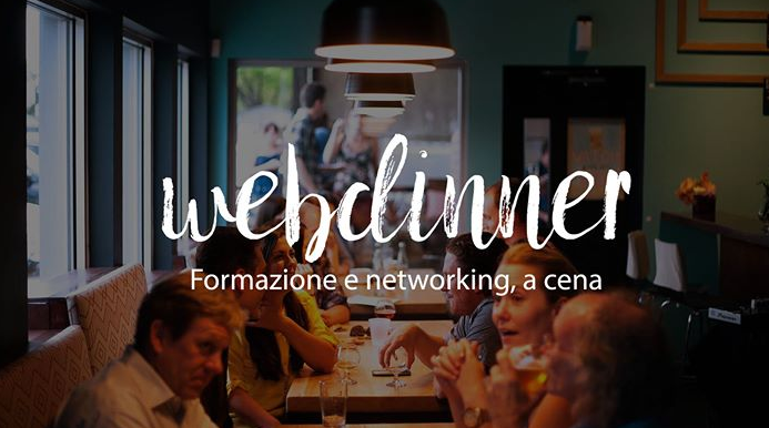 Webdinner: formazione & networking percena