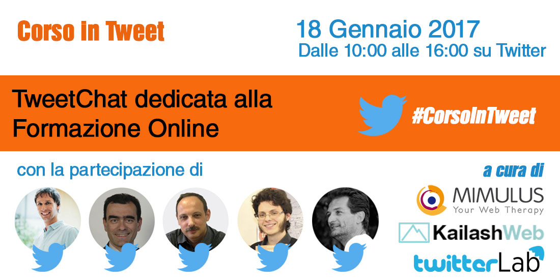 #CorsoInTweet: TweetChat sul Digital