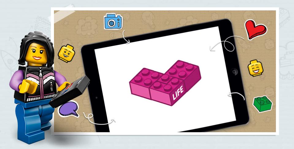 LEGO lancia il social network sicuro per bambini: LEGOLife