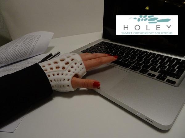 La start up Holey: quando l'ortopedia incontra la tecnologia3D