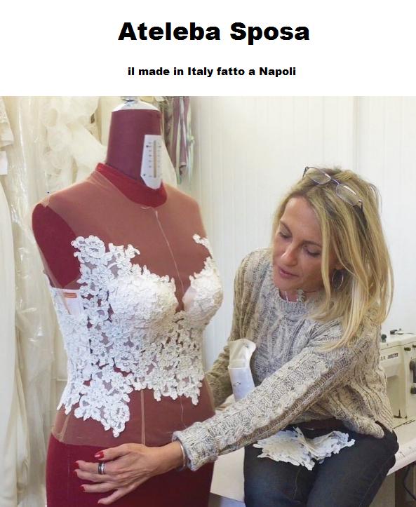 Come si fa l'abito da sposa su misura made in Italy? Intervista a Elena Barba di AtelebaSposa
