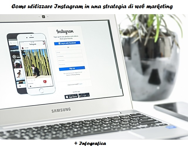 Come utilizzare Instagram in una strategia di web marketing [Infografica]