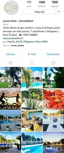 instagram marketing carone suite hotel