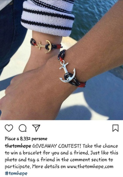instagram marketing contest tomhope