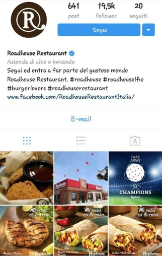 instagram marketing roadhouse restaurant