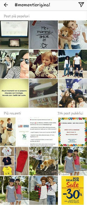 instagram original marines hashtag azienda