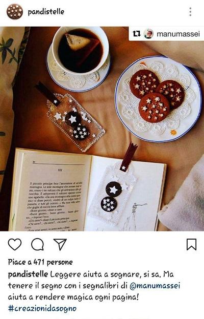 instagram regram aziende Pan di stelle