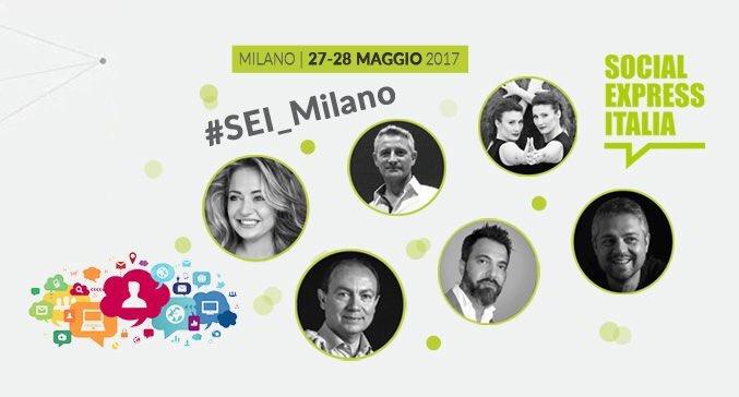 Social Express Italia a Milano il 27 e 28maggio