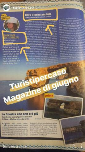 Instagram Stories TUristi per caso