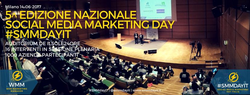 Social Media Marketing Day Italia: la quinta edizione il 14 giugno aMilano