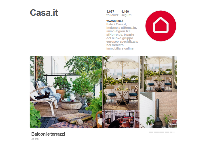 Pinterest per aziende e start up
