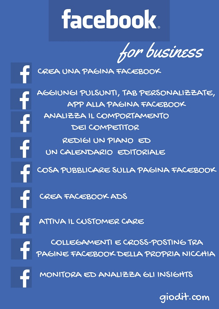 Facebook for business by GioDiT.