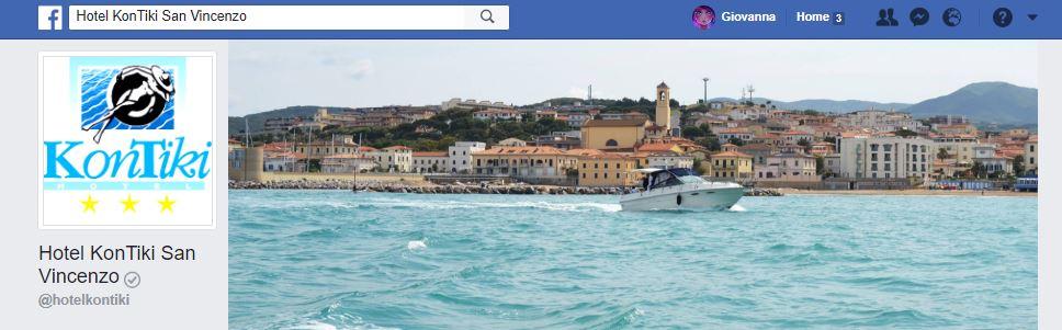 Hotel KonTiki San Vincenzo pagina Facebook verificata