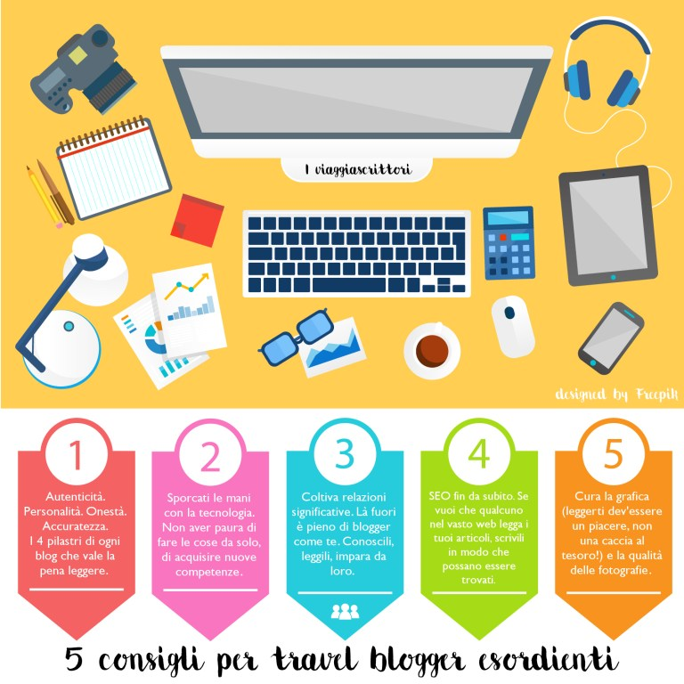 infografica travel blogger