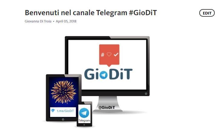 Telegraph: come utilizzare la piattaforma di blogging di Telegram