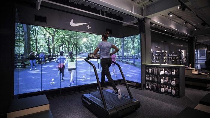Flagship store: la personificazione dei brand_ Nike_Running_Trial_Zone_