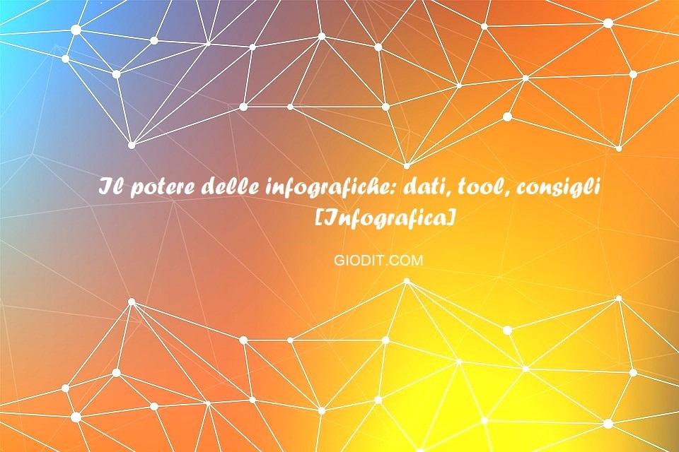 Il potere delle infografiche: dati, tool, consigli[Infografica]