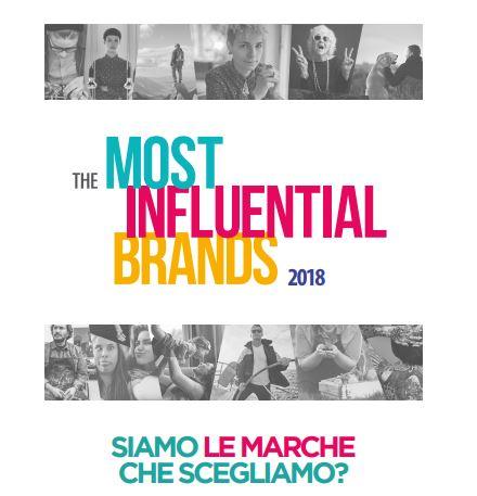 I brand più amati e che più ci influenzano nella vita_The Most Influential Brand 2018