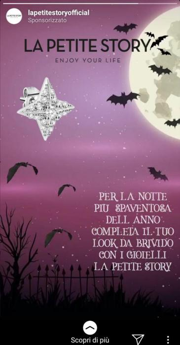 come i brand festeggiano halloween _Instagram Stories