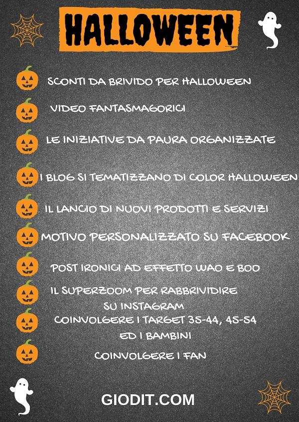 Cosa pubblicare sui social per Halloween_ Infografica_ GioDiT