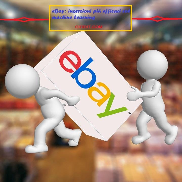 eBay: inserzioni più efficaci col machinelearning