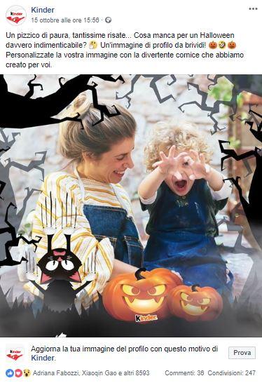 Kinder_ idee per i social per Halloween