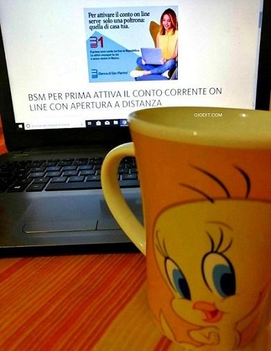 Da San Marino il conto corrente digitale da attivare online con zero costi-