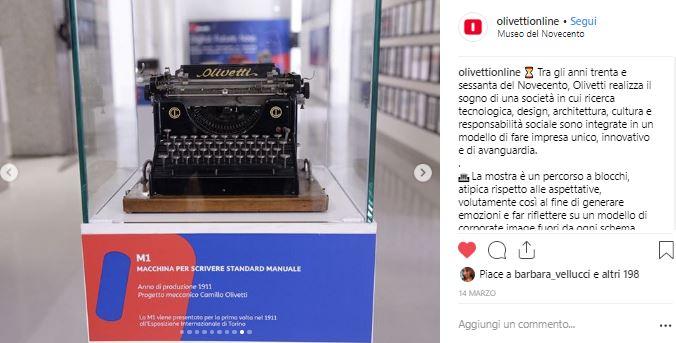 Olivetti mostra storia di innovazione macchine da scrivere che hanno fatto la storia
