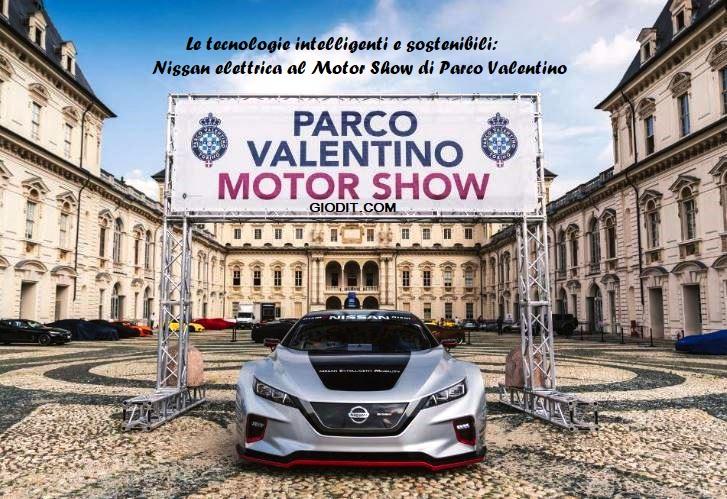Le tecnologie intelligenti e sostenibili: Nissan elettrica al Motor Show di ParcoValentino