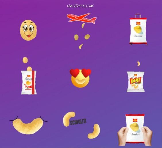 Le gif dei brand invadono le Instagram Stories_San Carlo patatine