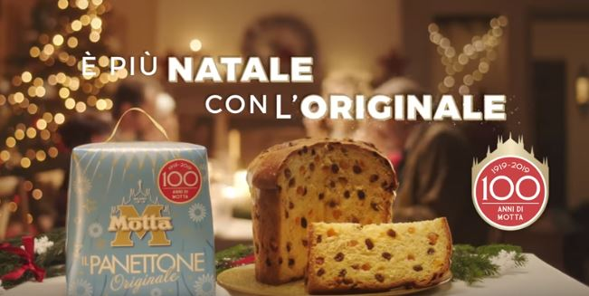 Motta 100 anni del brand_ spot Natale