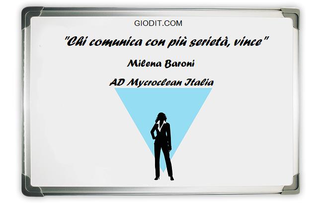 """Le mascherine """"spaziali"""": intervista a Milena Baroni di Mycroclean Italia by GioDiT"""
