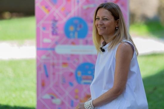 Amministratore delegato di Siram Veolia e promotrice del progetto CambiaCI Emanuela Trentin