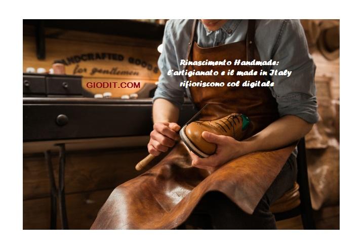 Rinascimento Handmade: l'artigianato e il made in Italy rifioriscono col digitale[Intervista]