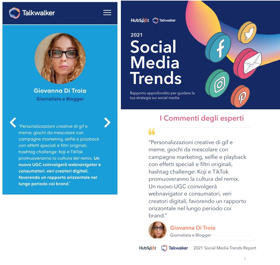 I Social Media Trends del 2021 | Contributo GioDiT per Talkwalker & HubSpot