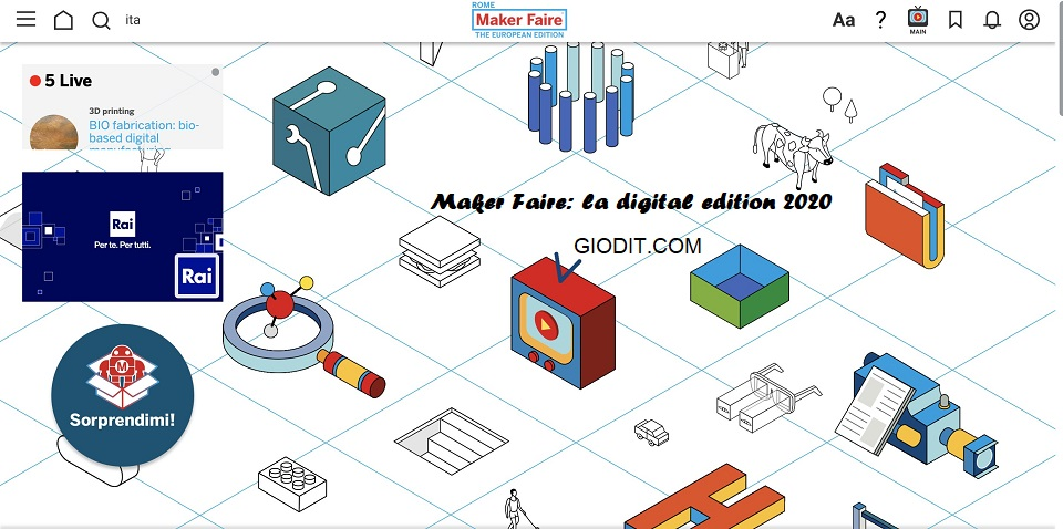 Maker Faire: la digital edition 2020