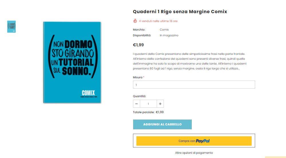 Ecommerce come vendere online_scheda prodotto di successo