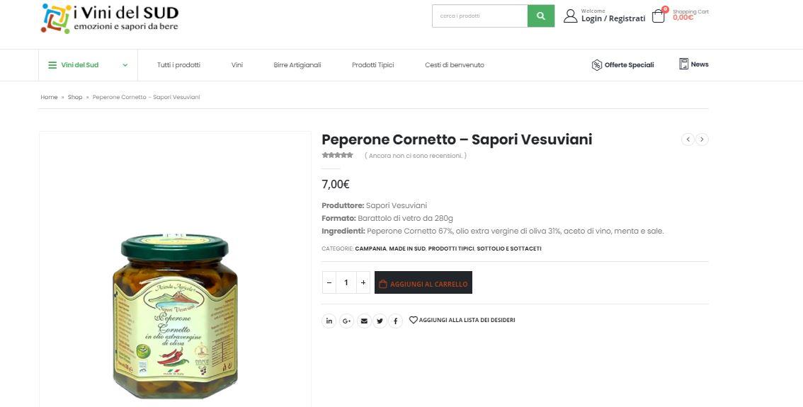 Prodotti tipici locali_ Campania_ commercio online